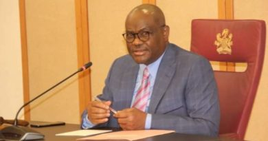 Wike lock down Bonny, Onne, considers total lockdown of Rivers State, [See reason why] Wike Orders COVID-19 Tests For Govt House Staff Gov Nyesom Wike breaks silence on alleged plans to join APC No One Should Tell Me How To Spend N78BN FG Govt Refund – Wike