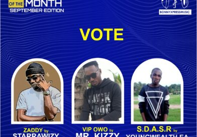 Vote for your Artist of the month September Edition