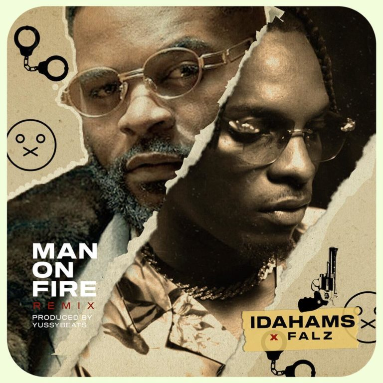 [Music] Idahams – Man on Fire (Remix) ft. Falz